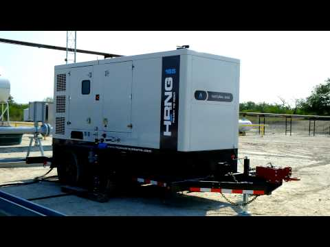 Hipower Natural Gas Generator at Eagle Ford Shale
