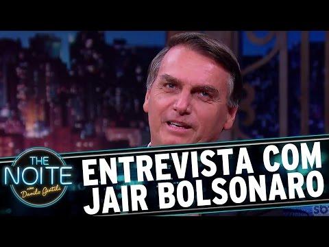 Entrevista com Jair Bolsonaro  The Noite 200317