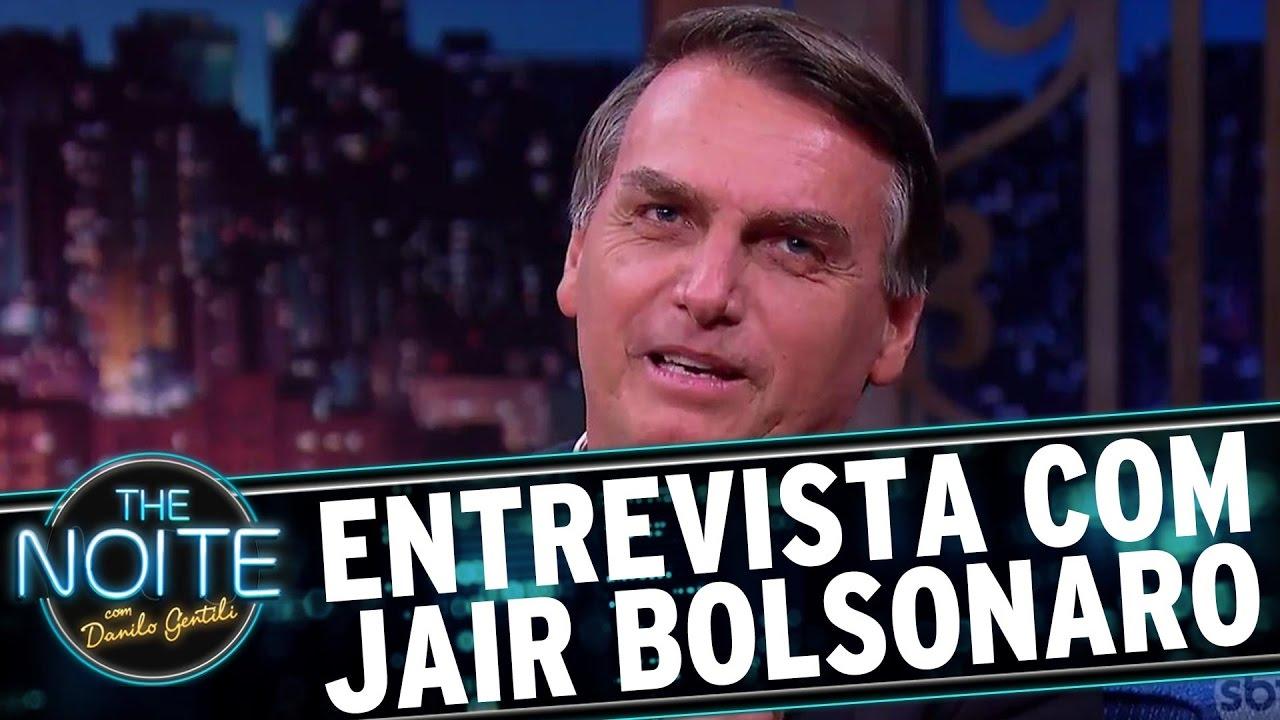 Entrevista com Jair Bolsonaro | The Noite (20/03/17)