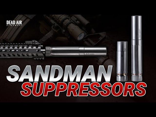 Long vs Short Suppressor Test - Dead Air Sandman-K vs Sandman-L