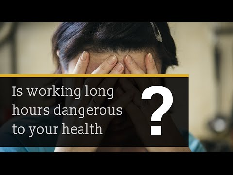 Long Working Hours and Chronic Disease