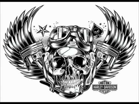 Girl Tattoo Wallpaper Eagle Design Quot Skull Amp Pistons Quot By D Vicente Youtube