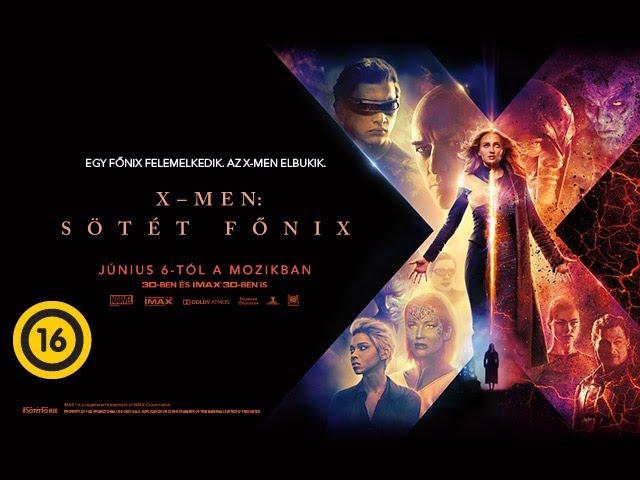X-Men: Sötét Főnix (16) - hivatalos szinkronizált előzetes #3