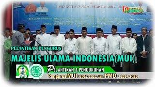 Pengukuhan Pengurus Majelis Ulama Indonesia (MUI) Kota Dumai oleh  Sekretaris Umum MUI Provinsi Riau