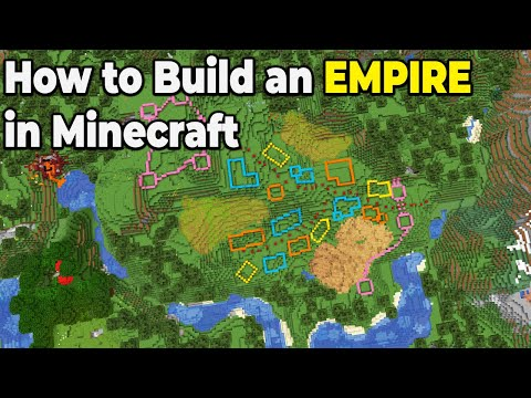 How to BUILD an EMPIRE in Minecraft Survival