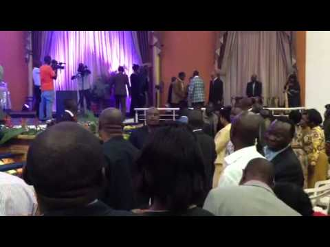 Special Welcome for Pastor Robert Kayanja to Kansanga Mirac