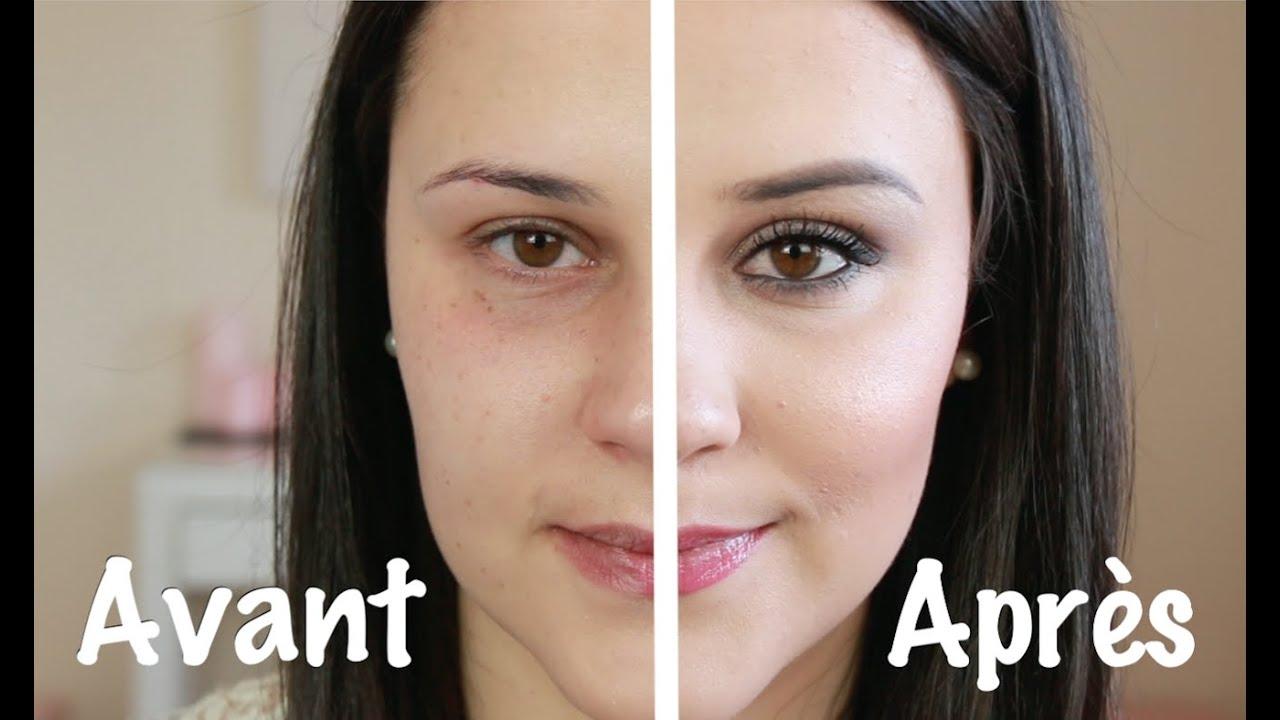 Connu La magie du maquillage AVANT / APRÈS - Cyrielle - YouTube FL12