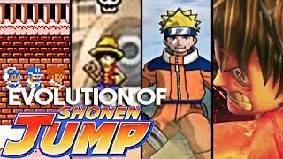 Evolution of Shonen Jump Games [1989-2019]
