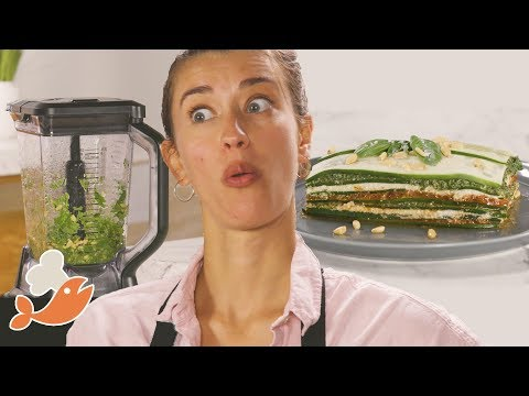 Can This Chef Make A 3-Course Meal With A Blender? • Tasty