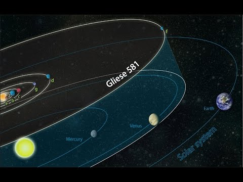 Сенсация! Получен мощный сигнал от разумных существ с планеты Gliese 581 g НЛО