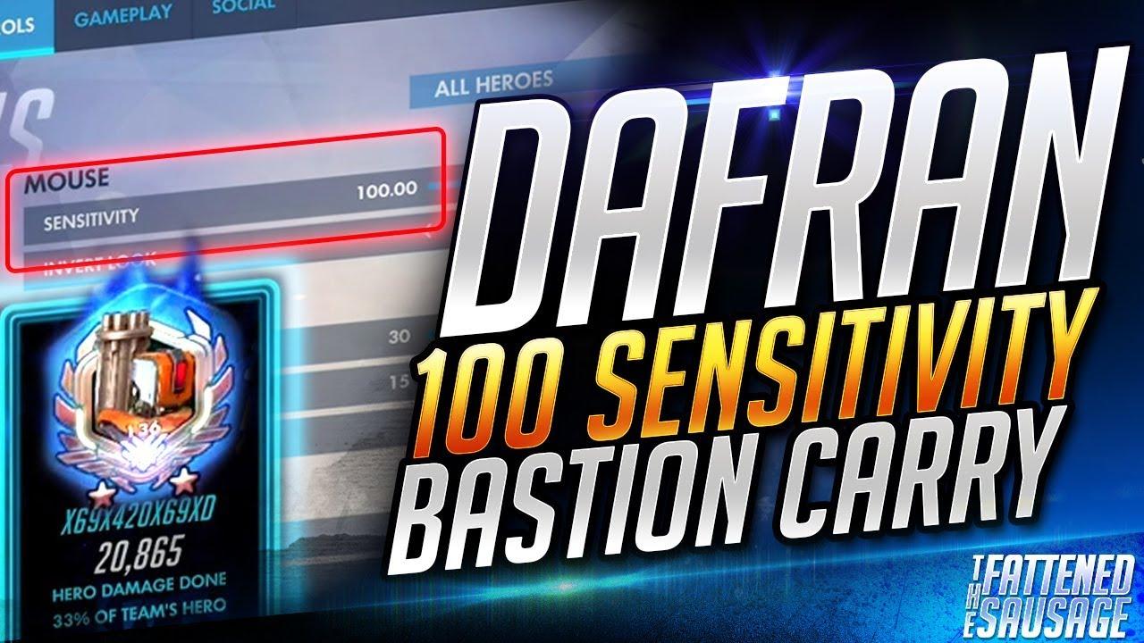 Dafran Plays Bastion At 100 SENSITIVITY And DESTROYS!