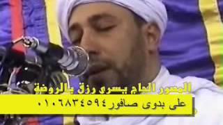 الشيخ رياض الجزائرى فى عزاء الشيخ الشحات محمد أنور