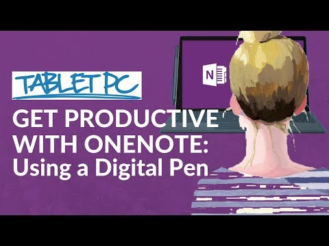 Get Productive with OneNote: Using a Digital Pen to take handwritten notes!