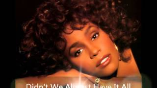 Whitney Houston - Live in Boston 1987