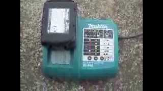 Makita 18V Li-Ion 3.0AH battery and charger