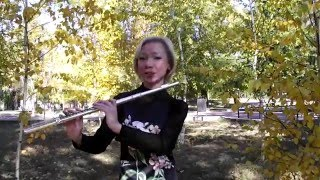 Урок 1д, флейта. Постановка левой руки.