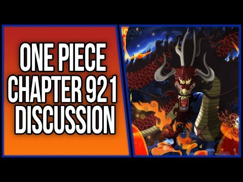 Kaido's Devil Fruit(s) Finally Revealed in Wano!   One Piece Chapter 921 Discussion   ワンピース