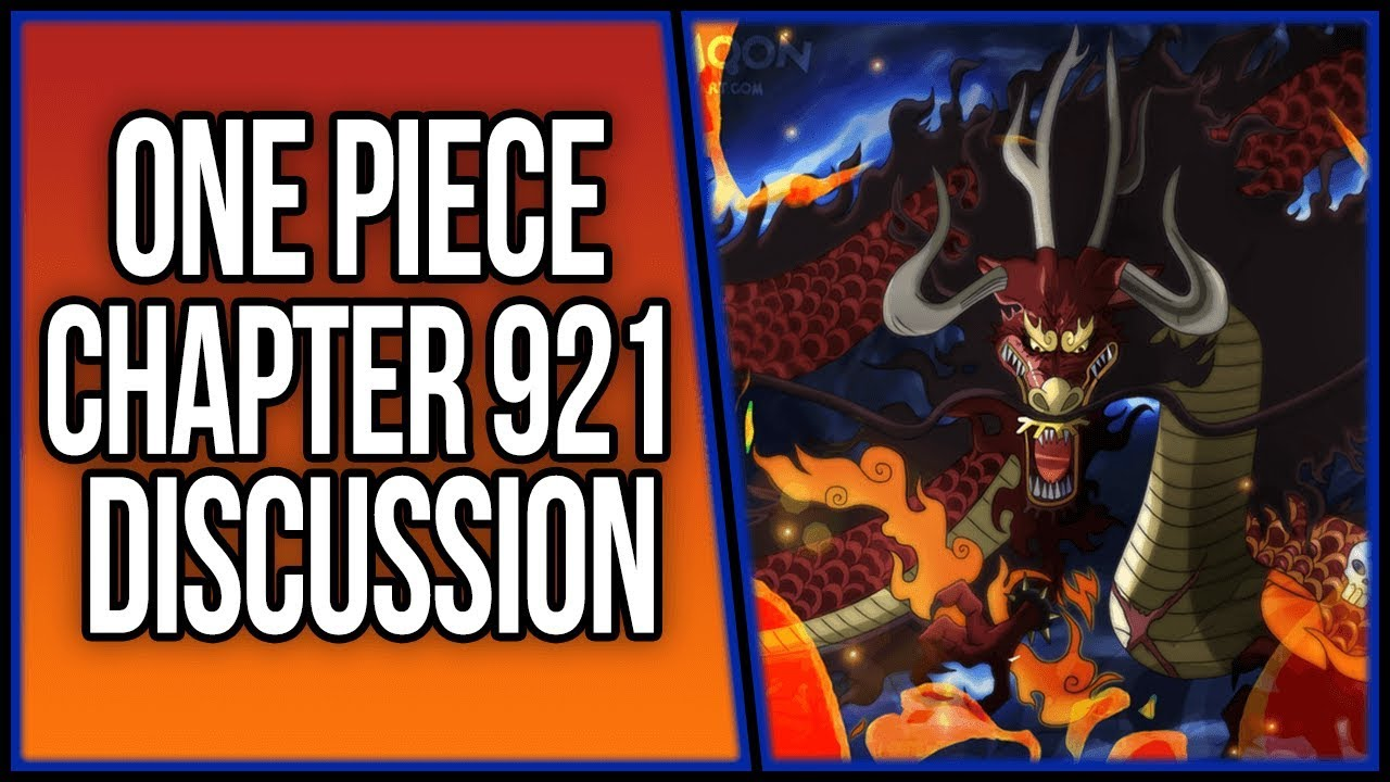 Kaido's Devil Fruit(s) Finally Revealed in Wano! | One Piece Chapter 921  Discussion | ワンピース