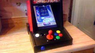 Mini Vertical Bar top Arcade Cabinet! SHMUPS!