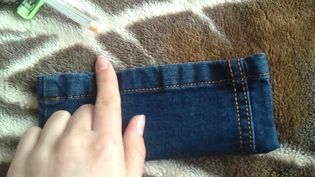 Пенал из джинс своими руками фото 394