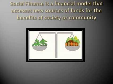 What is Social Finance?