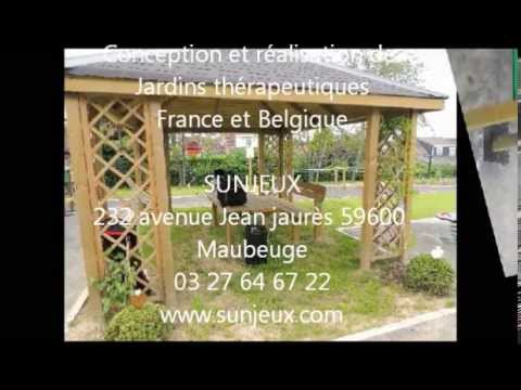 Jardin th rapeutique d 39 hautmont youtube for Jardin therapeutique