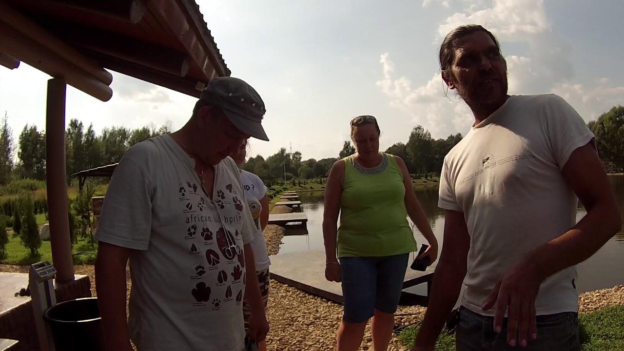 Платная рыбалка в Подмосковье, КФХ Прудцы. Рыбалка в Московской области.