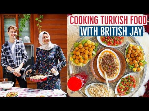 Cooking Turkish Food With British Guy Jay Palfrey