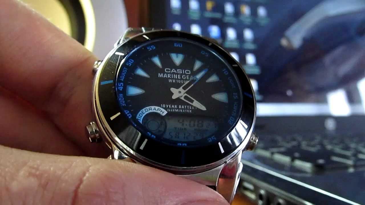 Инструкция к часам Casio MRP-700
