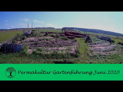 Permakultur Gartenrundgang Juni 2020
