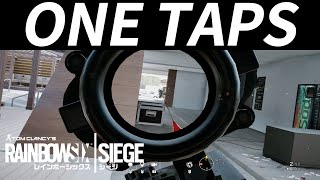 【R6S】One Taps Montage【シージ】