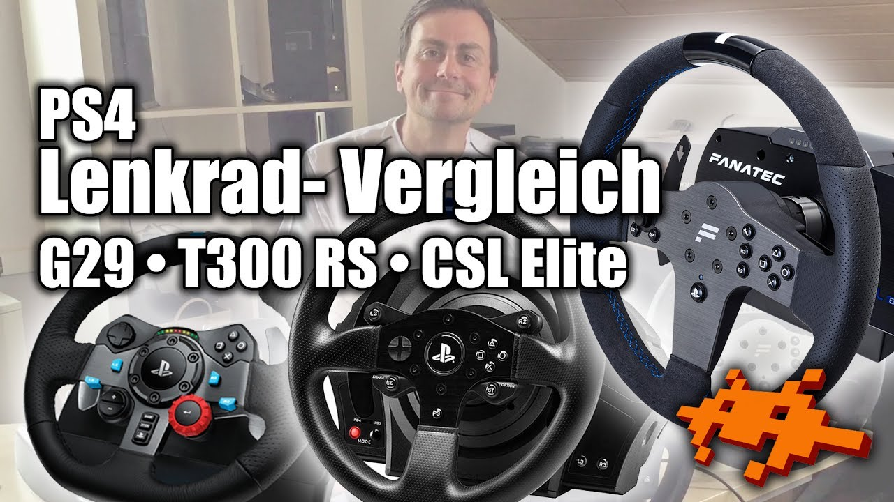 ps4 lenkrad vergleich logitech g29 vs fanatec csl elite. Black Bedroom Furniture Sets. Home Design Ideas