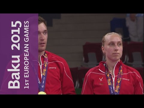 Full Replay of the Mixed Doubles Gold Final  | Badminton | Baku 2015