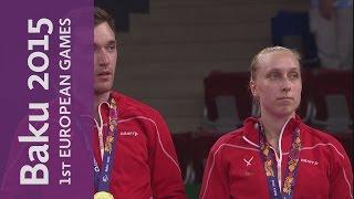 Full Replay of the Mixed Doubles Gold Final    Badminton   Baku 2015