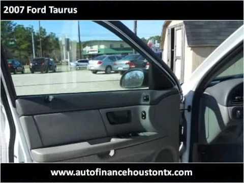 2007 Ford Taurus Used Cars Houston,TX Auto Finance