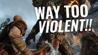 God of War is TOO VIOLENT! (Twitter Numbnuts)