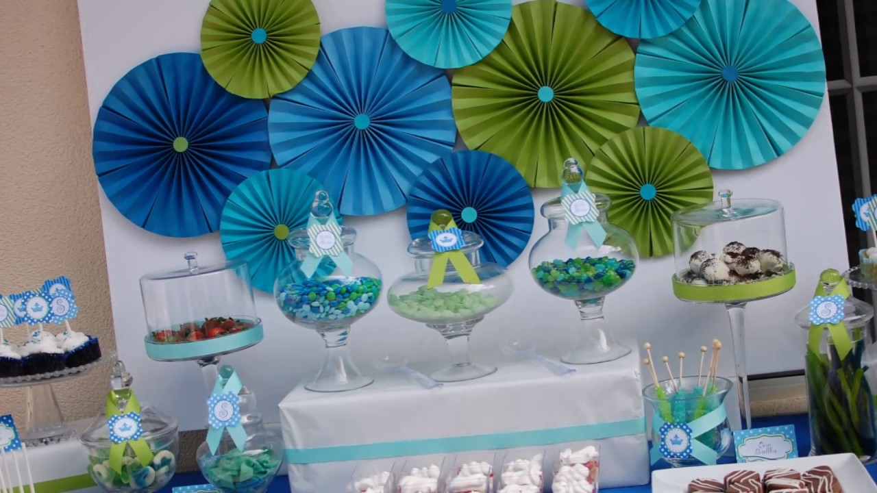 Baby Boy Birthday Party Ideas Youtube