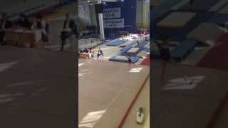 Спортивная гимнастика.Астафьева Ольга.Вольные Упражнения.