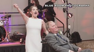 VIDEO: EXCLUSIVE: Behind-the-scenes look at the viral video of bride dancing with terminally ill dad