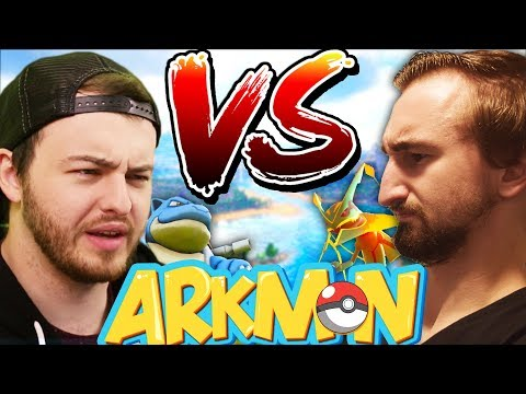 EPIC SHOWDOWN VS ANDREW -  ARK SURVIVAL EVOLVED POKEMON MOD (ARKMON) #9