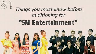 Things you must know before audition to SM Entertainment || It\x27s Ohu