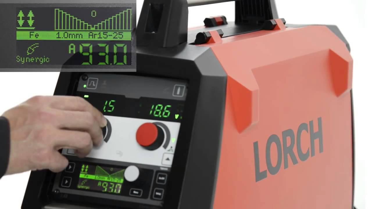 Сварочный аппарат lorch v30 как работает инвенторный сварочный аппарат
