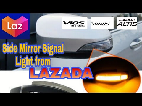 TOYOTA SIDE MIRROR Light Installation (Part 1)