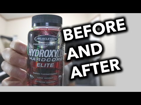 Hydroxycut Hardcore Elite Review Before and After