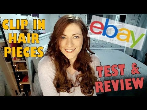 Testing Cheap eBay Clip in Hair Extensions & Hair Pieces