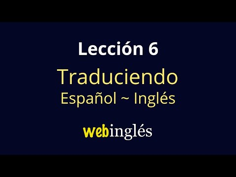 6-traducir-español-inglés,-cuando-tener-=-to-be