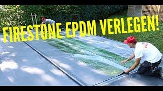 Dachdecker / Wie verlegt man Firestone? / Firestone EPDM installation