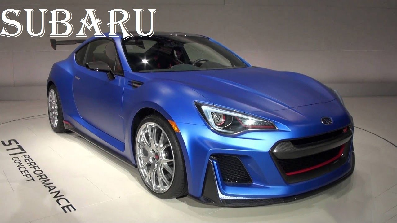 SUBARU BRZ STI 2017 Turbo Horsepower Engine Interior And Price