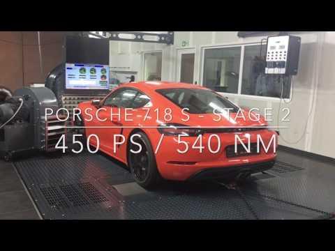Porsche 718 S - Stage 2 - 450 HP / 540 NM