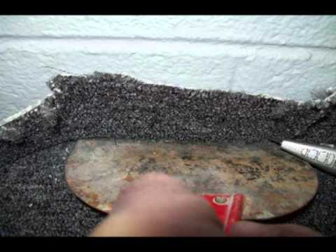 Gluing carpet to concrete, best free video - YouTube